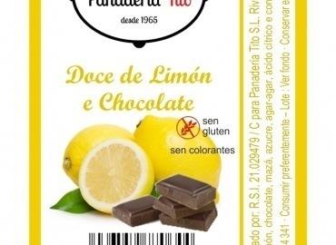 Dulce de limón y chocolate